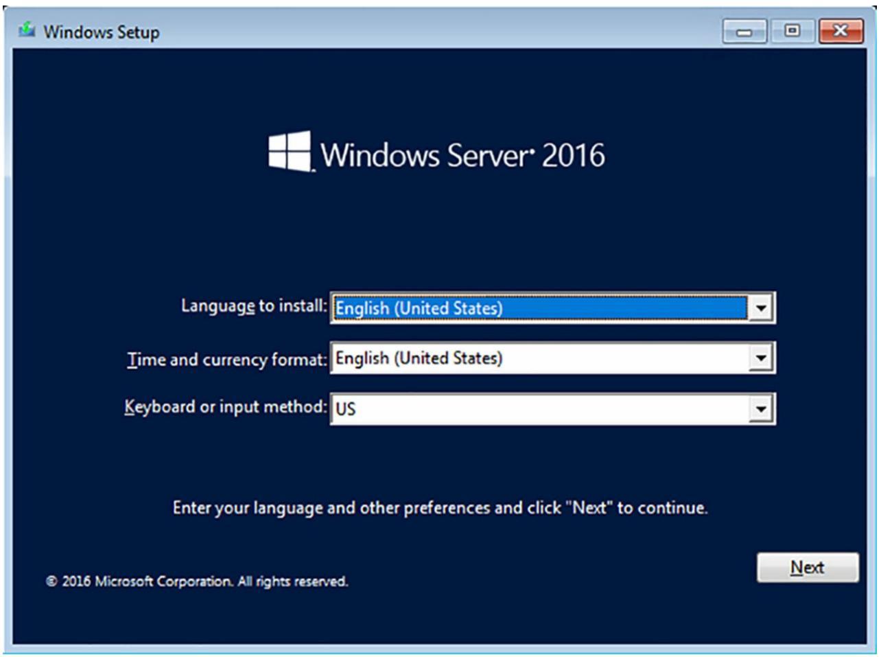 Глава 1  Установка Windows Servers на хосте и в