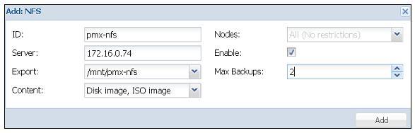 Глава 6  Настройка системы хранения - Книга рецептов Proxmox